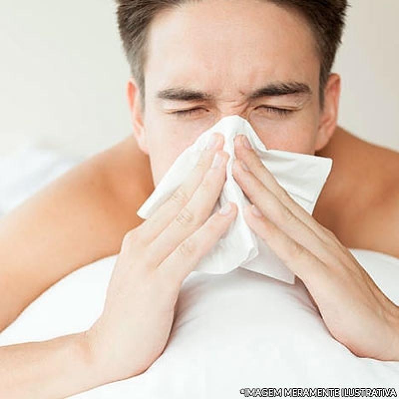 Clínica de Tratamento de Rinite Jabaquara - Tratamento de Alergia de Pele
