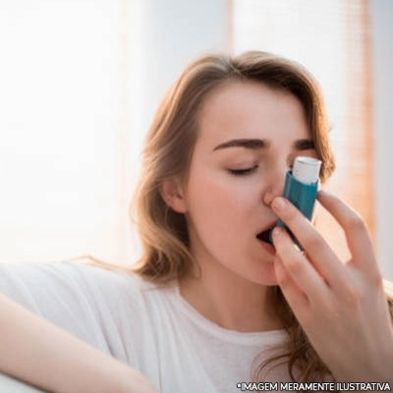 Clínica de Tratamento para Asma Vila Andrade - Tratamento de Alergia Alimentar