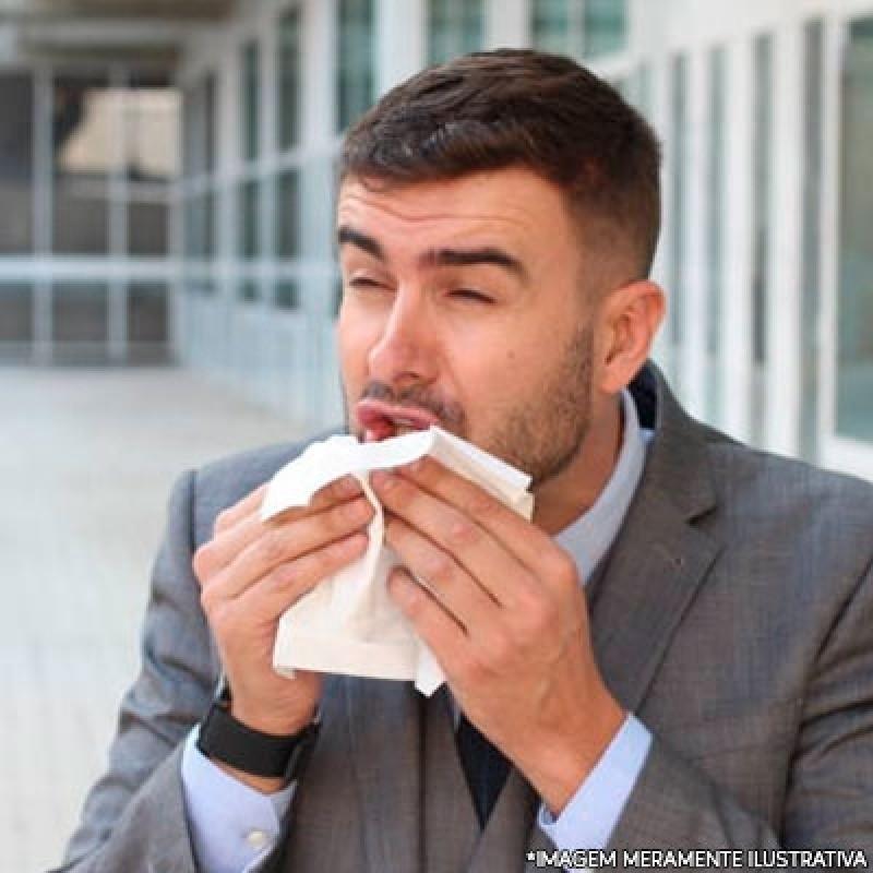 Onde Fazer Tratamento de Rinite Vila Dom Pedro I - Tratamento de Alergia Alimentar