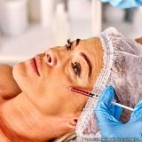 clínica para preenchimento facial ácido hialurônico Cidade Nova Heliópolis