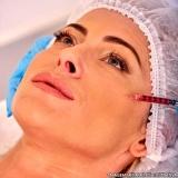 clínica para preenchimento facial bochecha Cidade Dutra