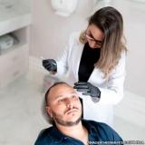 clínica para preenchimento facial masculino Vila Monumento