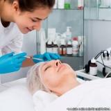 fazer preenchimento facial com ácido hialurônico Socorro