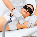 serviço de depilação a laser na axila ABC Paulista