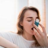 tratamento de asma