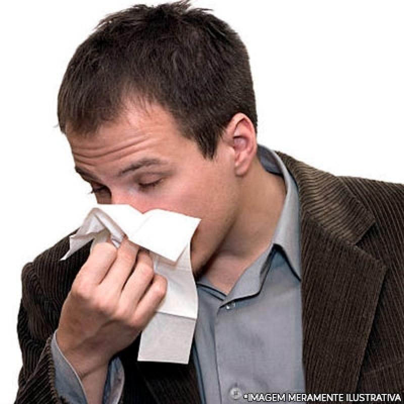 Tratamento de Rinite São Caetano do Sul - Tratamento de Alergia Alimentar